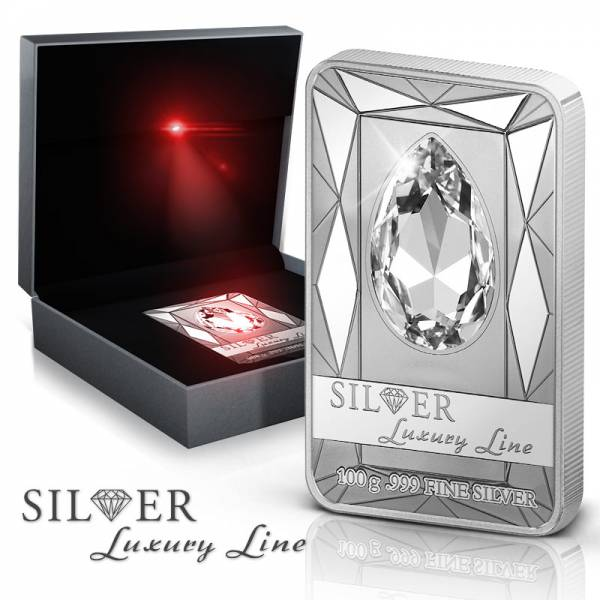20 Dollars  Cook-Inseln Silver Luxury Line 2013 Prooflike