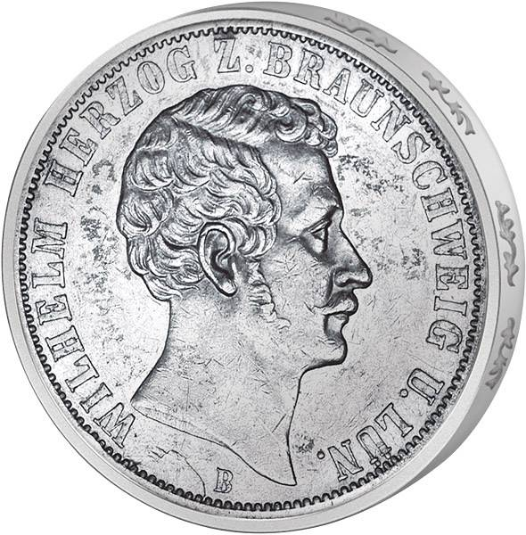 Vereinstaler Herzog Wilhelm
