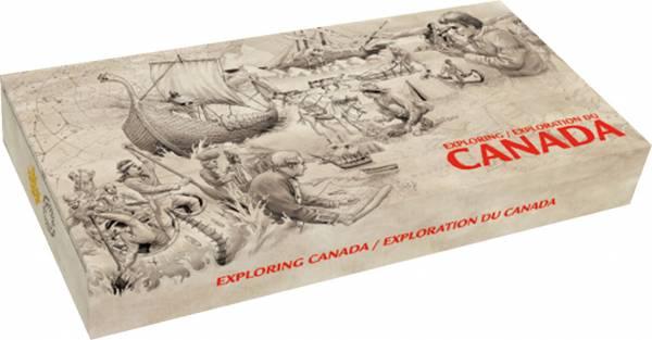 Sammeletui zur Serie Kanada erforschen