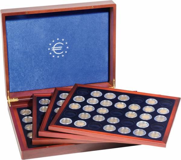 Münzkassette für 140 2-Euro-Münzen in Kapseln