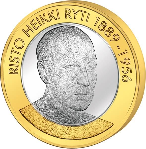 5 Euro Finnland Risto Heikki Ryti 2017