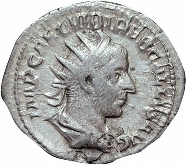 Denar Rom Kaiser Trebonianus Gallus