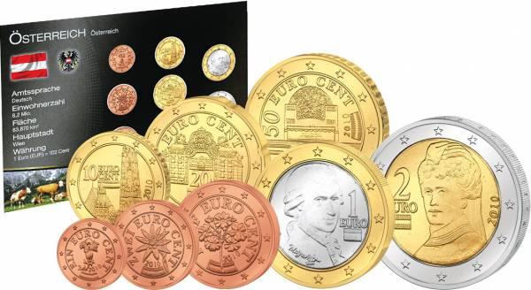 Premium-Euro-Kursmünzensatz Österreich