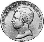 Taler Kronentaler Wilhelm I. 1817 Sehr schön