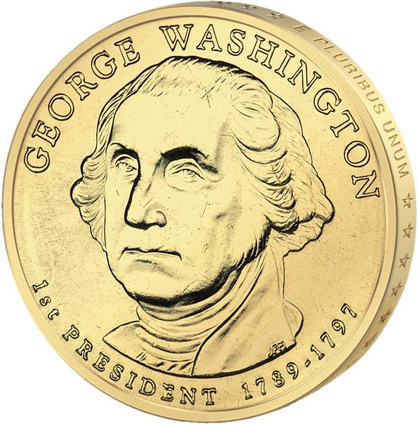 1 Dollar USA George Washington 2007 Stempelglanz