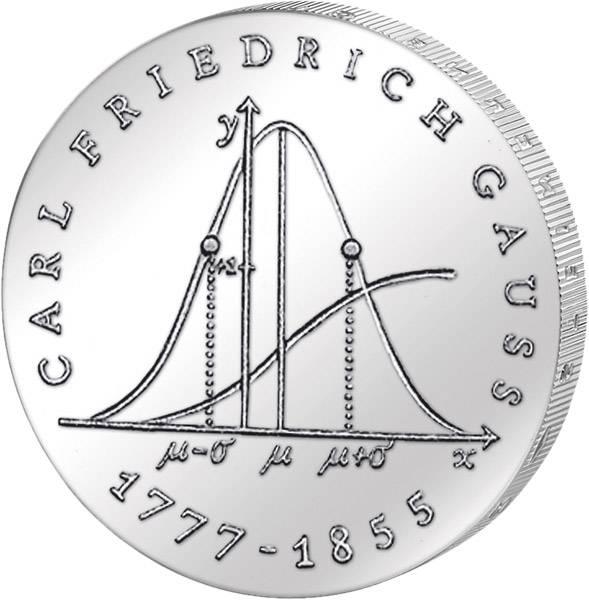 20 Mark Carl Friedrich Gauß