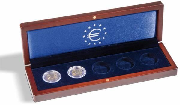 Münzetui für 5 x 2-Euro-Gedenkmünzen Europaflagge