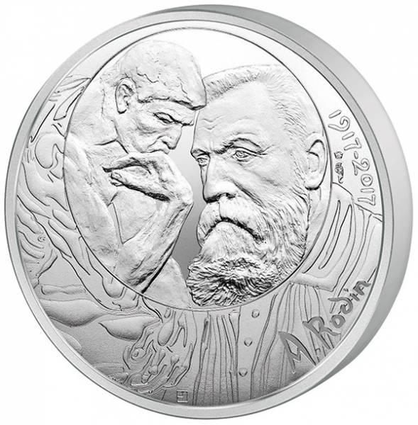 10 Euro Frankreich Auguste Rodin 2017