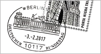 Individueller Poststempel