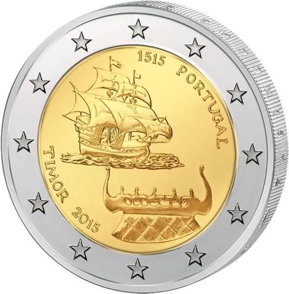 2 Euro Portugal 500 Jahre Portugiesisch-Timor 2015 prägefrisch