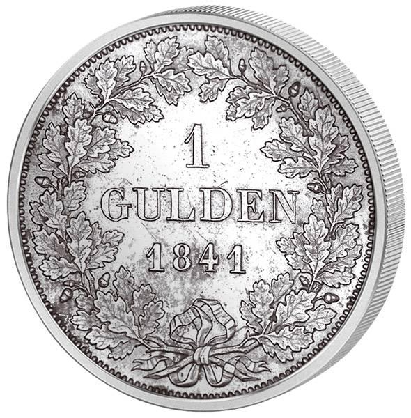 1 Gulden Bayern König Ludwig I. 1837-1848 ss-vz