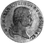 Taler Konventionstaler Maximilian Joseph 1802 Vorzüglich