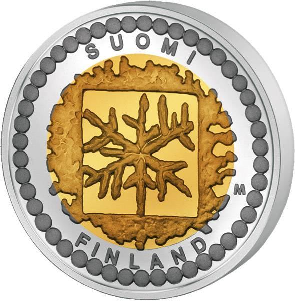 50 Euro Finnland Kunst und Design - Numismatik 2003 Polierte Platte