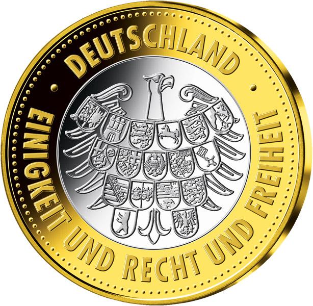 25 jahre deutsche einheit рубль елизаветы 1753