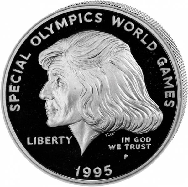 1 Dollar USA Paralympics Atlanta 1995 Polierte Platte (PP)