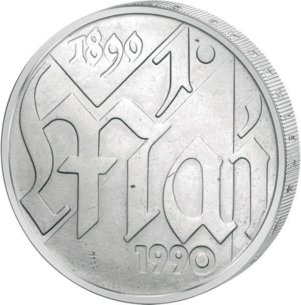 10 Mark  1. Mai 1990 A Stempelglanz
