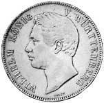 Taler Doppeltaler Wilhelm 1840-1855 ss-vz