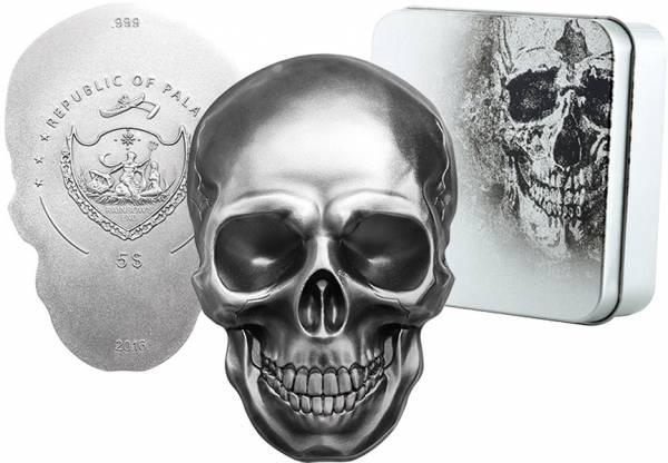 5 Dollars Palau Totenschädel