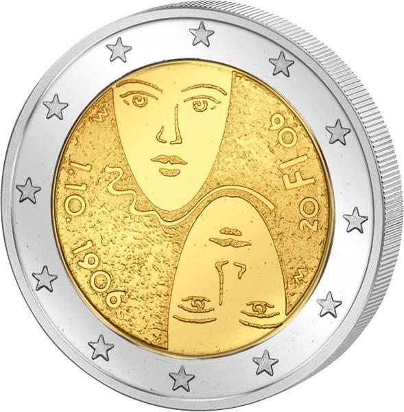 2 Euro Finnland 100 Jahre gleichberechtigtes Wahlrecht