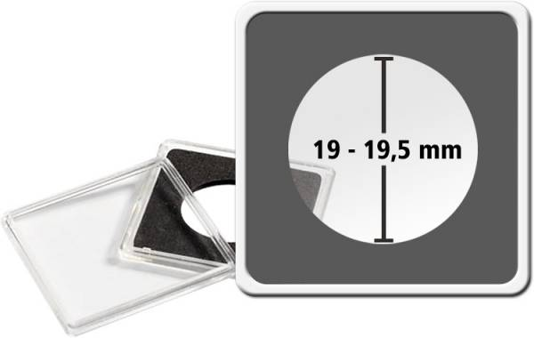 Quadrum Intercept-Kapsel Durchmesser 19 - 19,5 mm