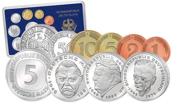 BRD-Kursmünzen-Serie
