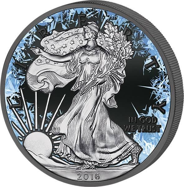 1 Unze USA Deep Frozen Edition Eagle
