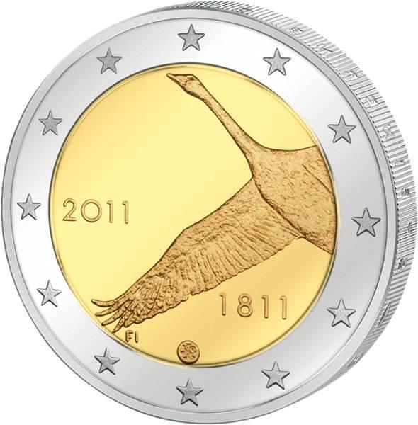 2 Euro Finnland 200 Jahre Nationalbank