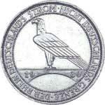 3 Mark Weimarer Republik Rheinlandräumung 1930 Vorzüglich