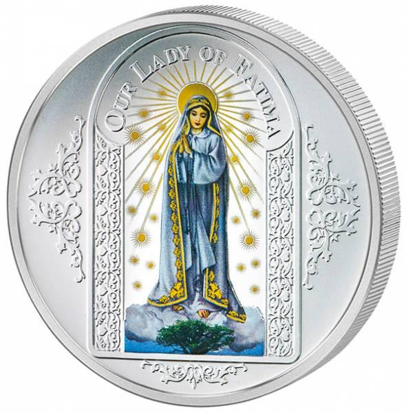 1 Dollar Tokelau Unsere liebe Frau von Fátima