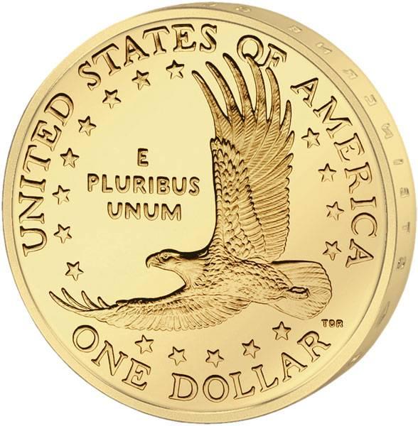 1 Dollar USA Sacagawea Weißkopfseeadler 2000-2008 Stempelglanz