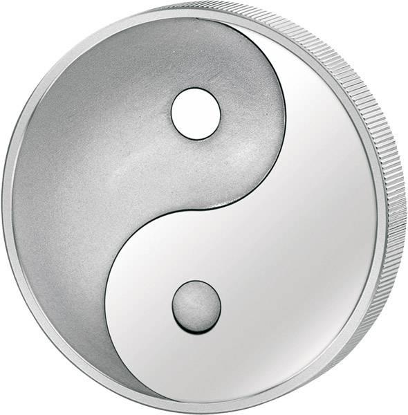 100 Togrog  Mongolei Yin und Yang  2007  Polierte Platte