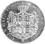 Taler Doppeltaler Wilhelm II. und Friedrich Wilhelm 1840-1845  ss-vz