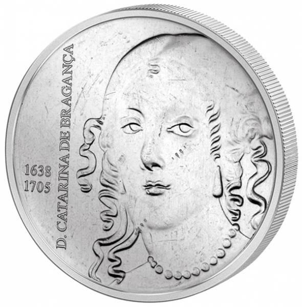 5 Euro Portugal Europas Königin D. Catarina de Braganca