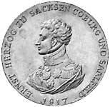 Taler Konventionstaler Ernst 1817 Vorzüglich