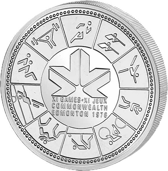 1 Dollar Silberdollar EDM BRDonton 1978  Prooflike