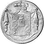 Taler Konventionstaler Alexius Friedrich 1806 und 1809  ss-vz