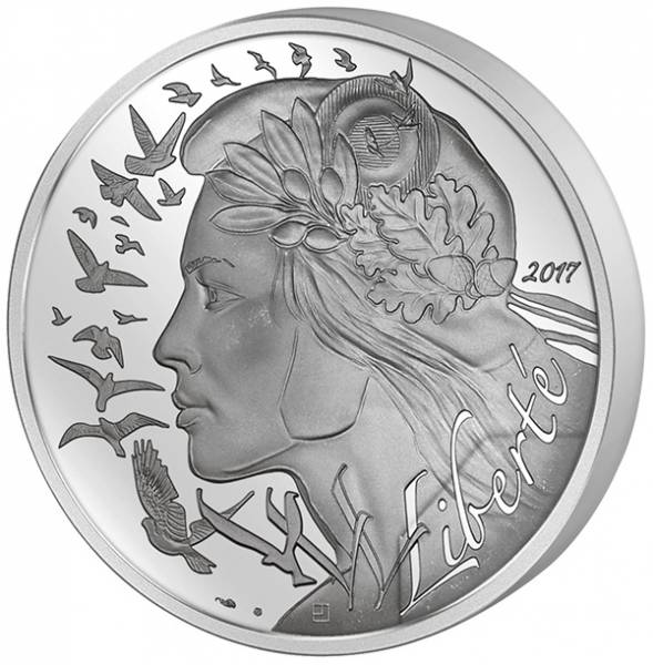100 Euro Frankreich Marianne 2017