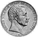 Taler Vereinsdoppeltaler Georg Wilhelm 1857 ss-vz