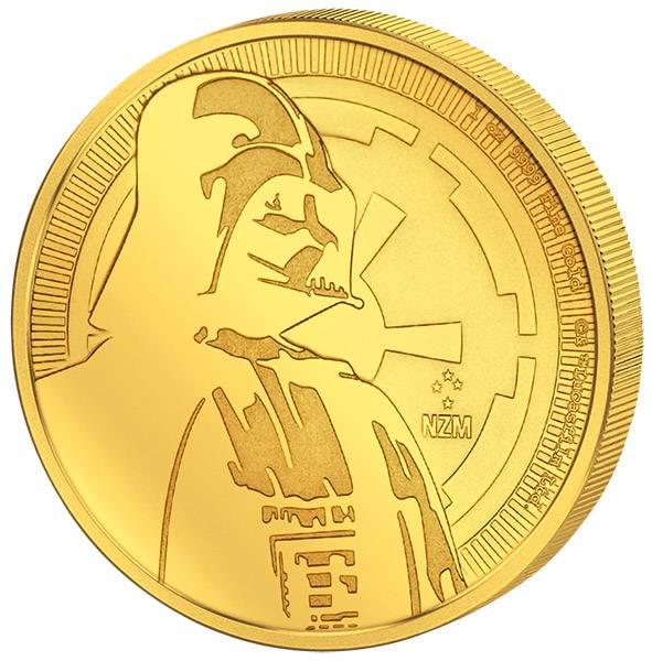 1 Unze Gold Niue Star Wars Darth Vader 2017