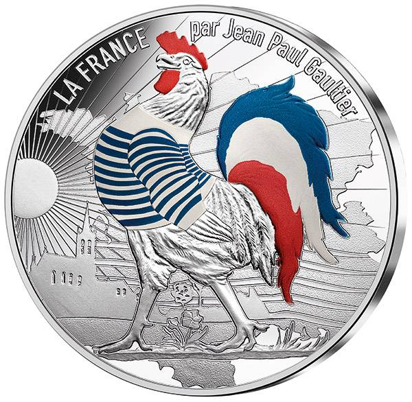 50 Euro Frankreich Gaultier Coq Marinière 2017
