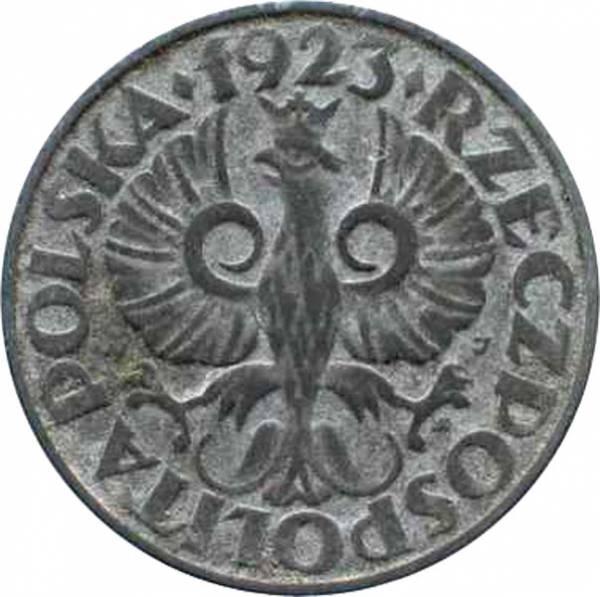 20 Groszy Polen Polnischer Adler 1923 Sehr schön