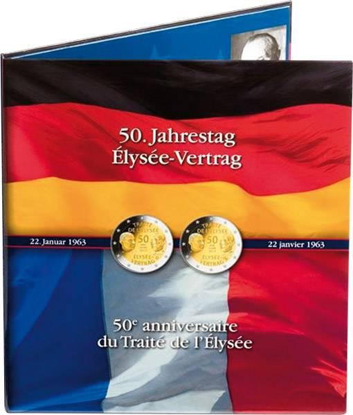 Münzalbum zur Serie BRD Prägestättensatz und Frankreich