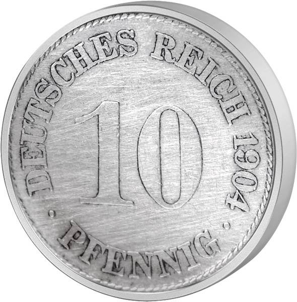10 Pfennig Deutsches Kaiserreich kleiner Adler 1873-1889 s-ss