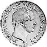 Taler Friedrich Wilhelm IV. 1842-1852 ss-vz
