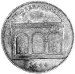 Taler Geschichtsdoppeltaler Ludwig I 1844  Vorzüglich