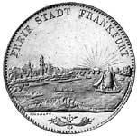 Taler Doppeltaler Vereinsmünze 1840-1844  vorzüglich