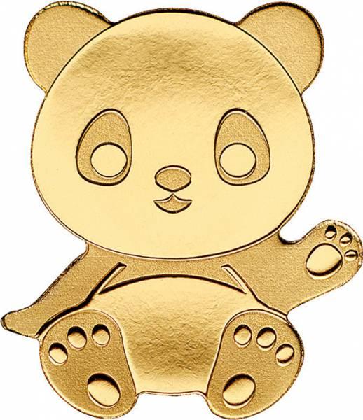 1 Dollar Palau Goldener Panda