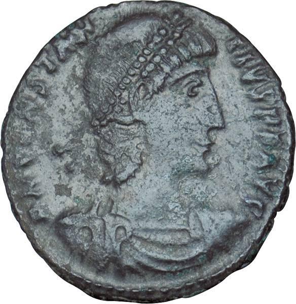 Maiorina Rom Constantius II. 337-361 n.Chr. Sehr schön