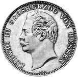 Taler Doppeltaler Ludwig III. 1854  ss-vz