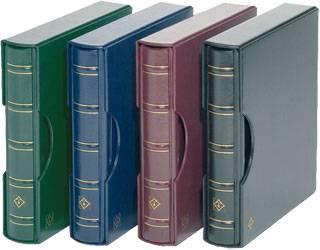 Ringbinder und Kassette Album in Farbe Blau